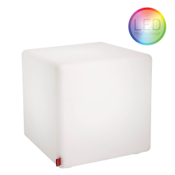 Stolik Moree Cube LED Accu multikolor