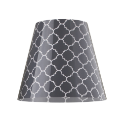 Abażur Moree Swap Grey Quatrefoil